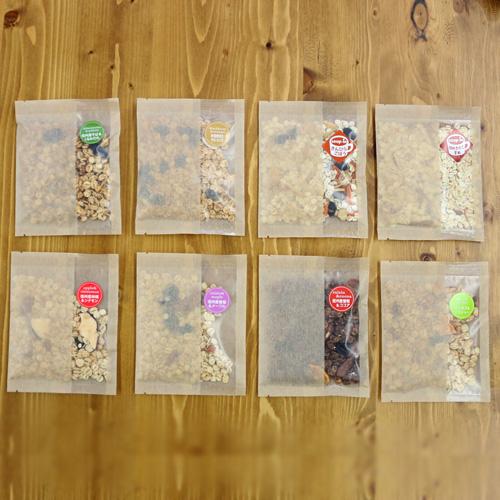 【送料無料】国産大麦グラノーラ 5種お試しセット